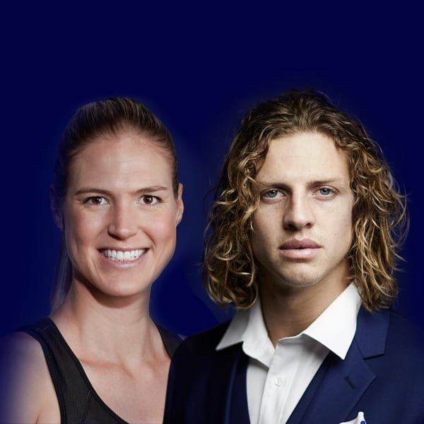 Caitlin Bassett <br/>& Nathan Fyfe